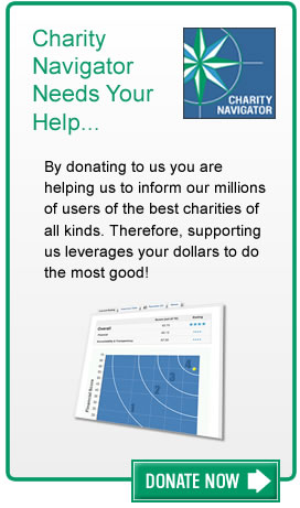 Donate to Charity Navigator