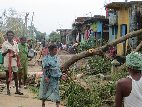 Tropical Cyclone Phailin Disaster Relief
