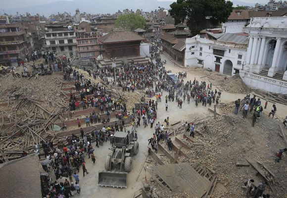 Help the Victims of the Nepal Earthquake Header Image